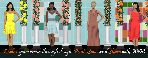 design my own wedding dress game