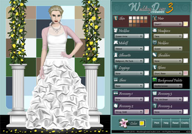 design your own wedding dress online wedding dress creator 2016